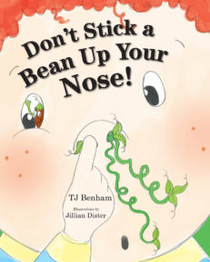 Don't Stick a Bean Up Your Nose! cover front