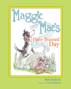Maggie Mae's Hare-Brained Day cover front
