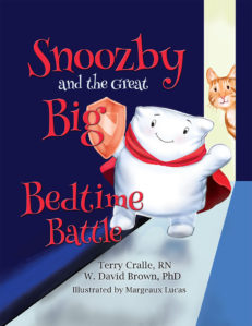 Snoozby and the Great Big Bedtime Battle cover front